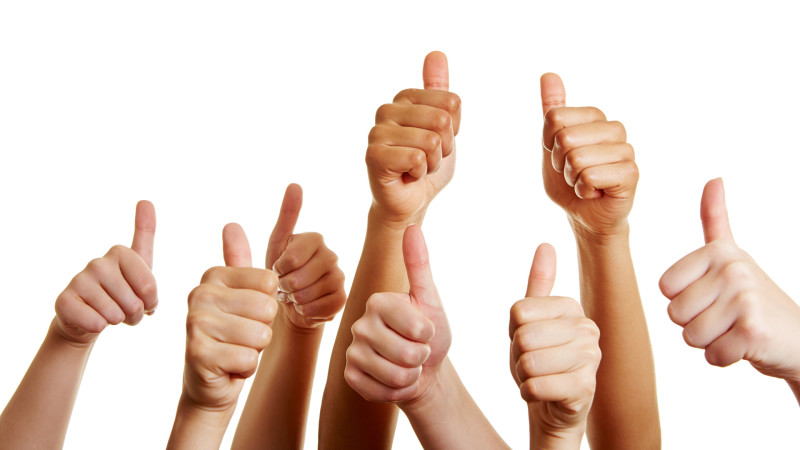 amazing service gets the thumbs up
